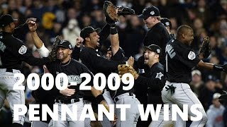 MLB | Pennant Winning Pitches | 2000-2009