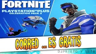 CORRED, IT'S FREE ? Fortnite'S NEW EXCLUSIVE PACK for PlayStation FREE NOW AVAILABLE HERE