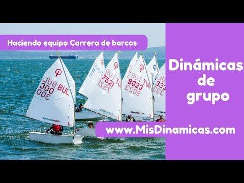 ✅Dinámica de colaboración  Carrera de barcos #risoterapia #dinamicas #teambuilding