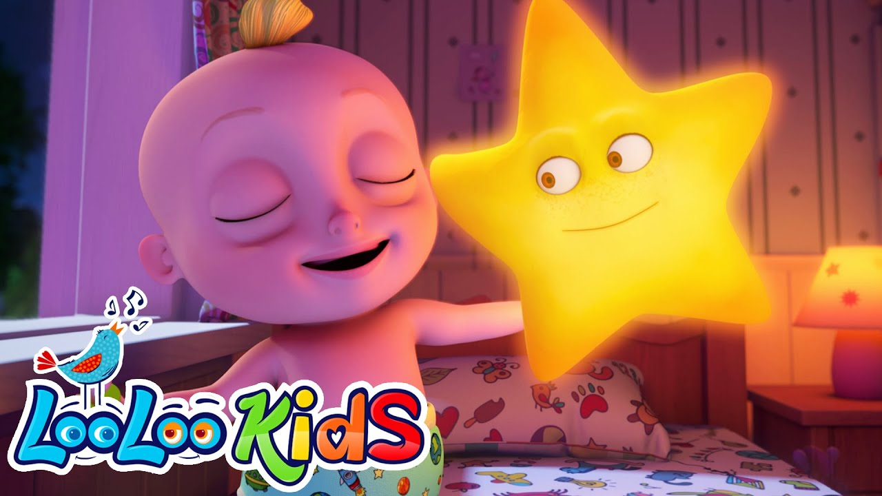 Twinkle Twinkle Little Star - BEST Educational Lullaby | LooLoo KIDS