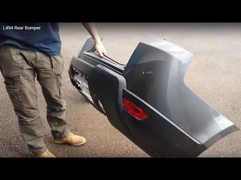 How to remove Range Rover Sport L494 rear bumper