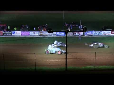 Sprint Car A Main at Bloomington Speedway 8 19 16