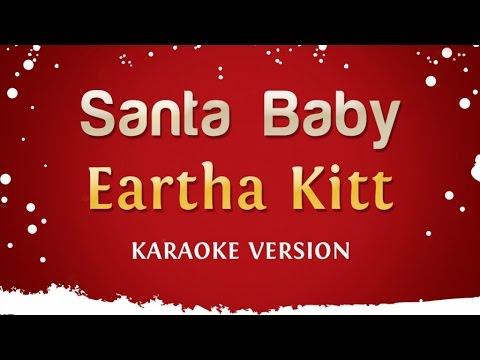 Eartha Kitt - Santa Baby Karaoke