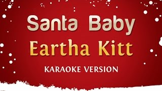 Eartha Kitt - Santa Baby (Karaoke Version)