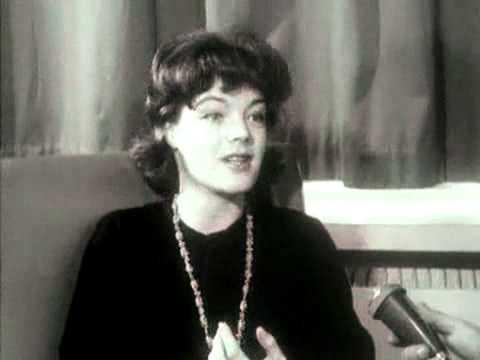 Romy Schneider interview (1962)