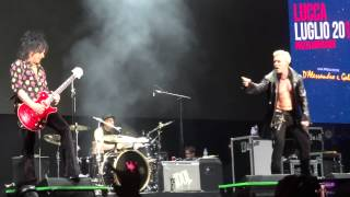 "Billy Idol ""White Wedding"" FULL HD ♫  Lucca Summer Festival 2015"