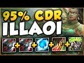 WTF?! NEW RUNE LETS ILLAOI UNLOCK 95% CDR?? ILLAOI SEASON 8 TOP GAMEPLAY! - League of Legends
