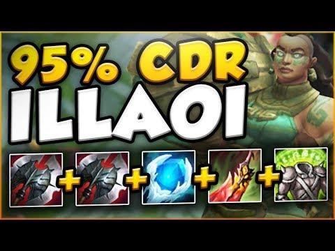 Download Youtube: WTF?! NEW RUNE LETS ILLAOI UNLOCK 95% CDR?? ILLAOI SEASON 8 TOP GAMEPLAY! - League of Legends