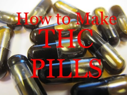 ☠ How to Make: THC PILLS ☠ (Coconut Oil)