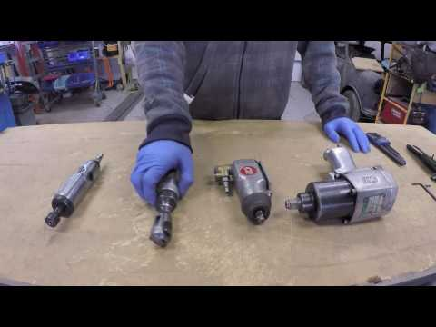 How an air tool motor works ( air vane motors ) (Part 1 of 2)