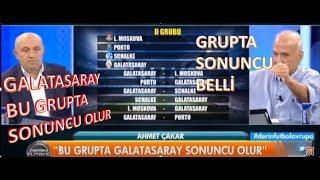 Ahmet Çakar: Galatasaray Şampiyonlar Ligi'nde sonuncu olur