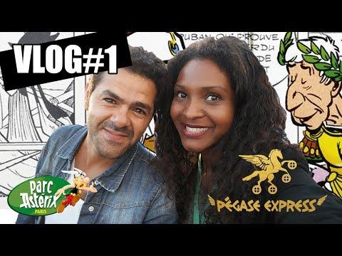 #VLOGPeur – Pégase Express au Parc Astérix avec Jamel Debbouze