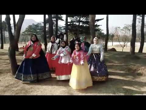 Panama dance di gyeongbokgung palace korea 2018
