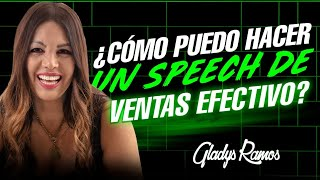 ¿Como hacer un Speech de Ventas Efectivo?