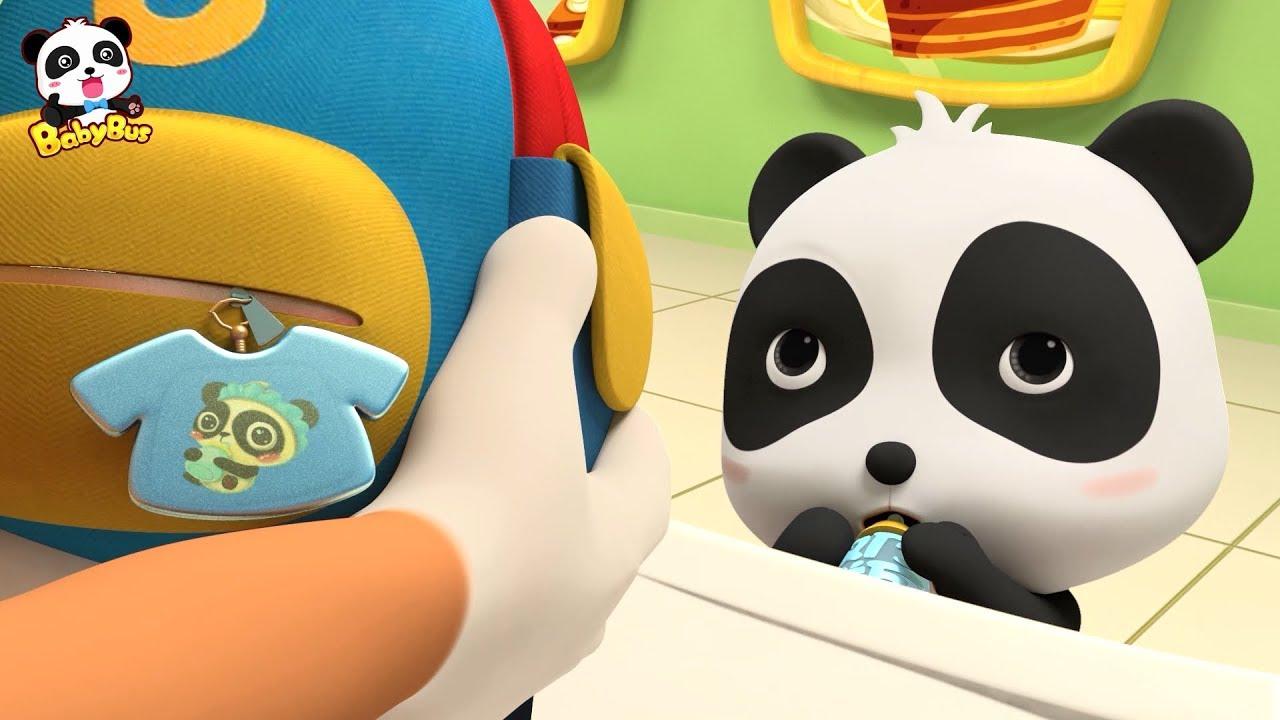 Panda Kiki's Infant Photo | Baby Panda's Magic Bow Tie | Magical Chinese Characters | Baby