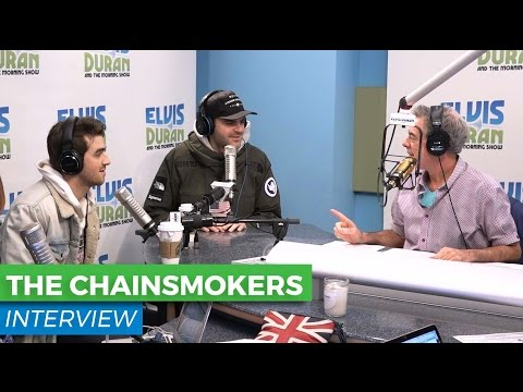 The Chainsmokers Talk New Music + Collaborating With Florida Georgia Line | Elvis Duran Show
