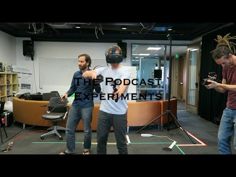 TRYING VR WITH BRYAN JOHNSON