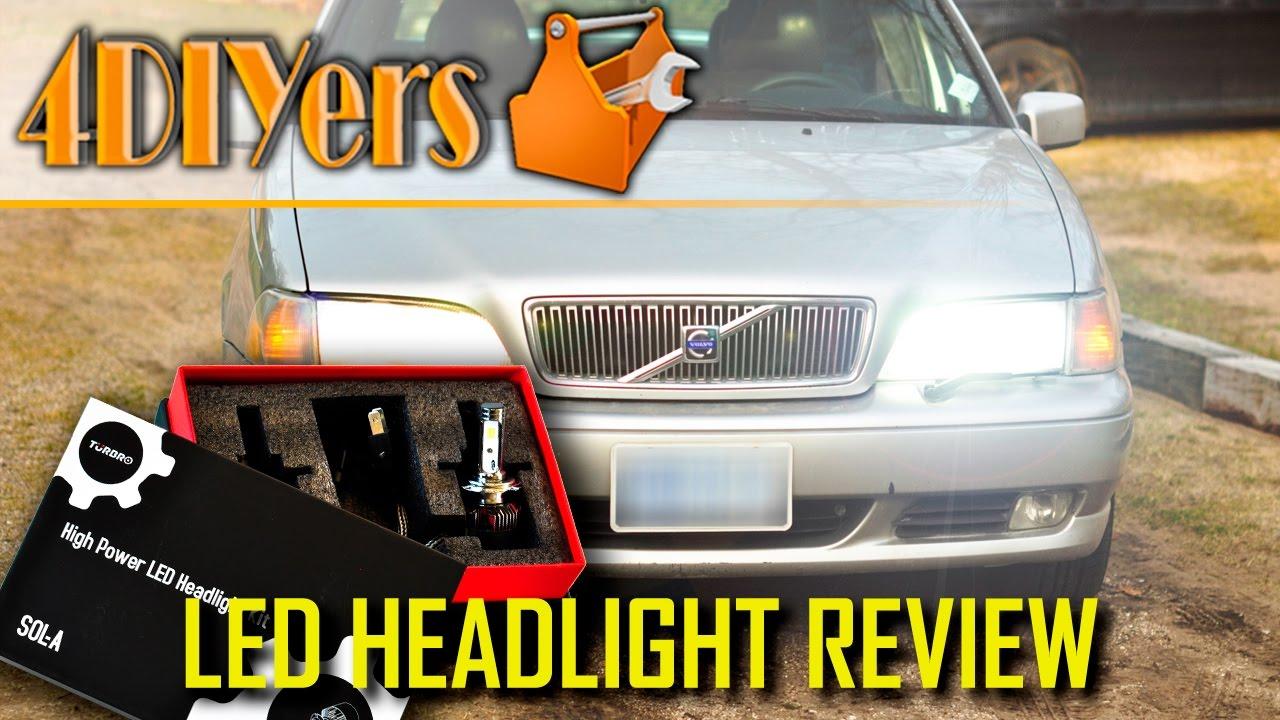 Review: Turbro H7 LED Headlight Conversion Kit