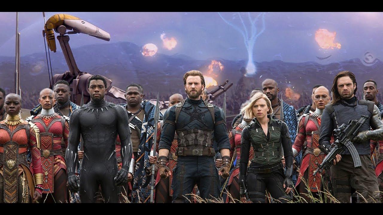 Download Wakanda Fight Scene 4K ULTRA HD  Final Battle - Avengers Infinity War