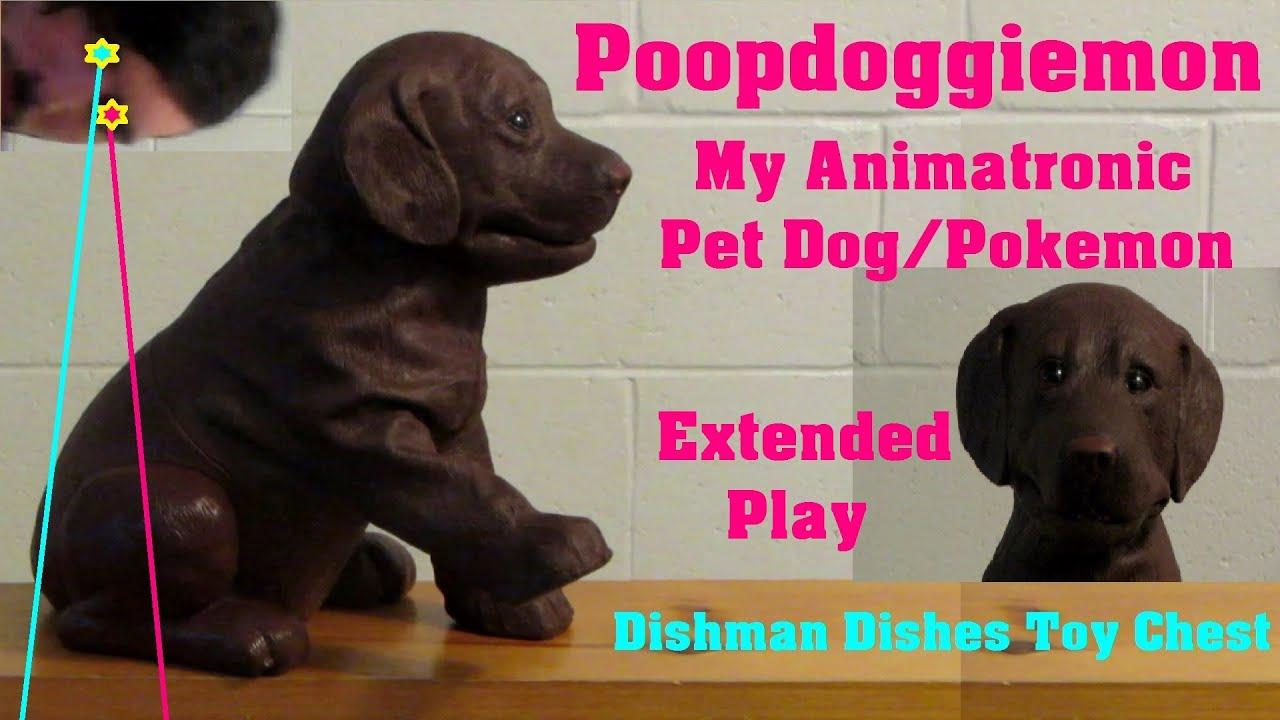 ... | Animatronic Dog Pokemon | Dishman Dishes Toy Chest - YouTube