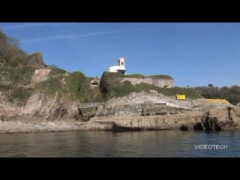 BANKS OF THE RIVER DART (PART 1) COMBE POINT TO DARTMOUTH CASTLE, DARTMOUTH UK. Travel Video