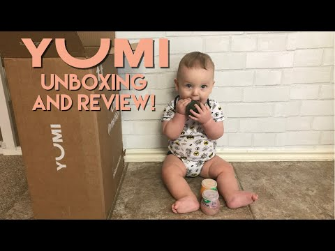 YUMI Babyfood unboxing and review