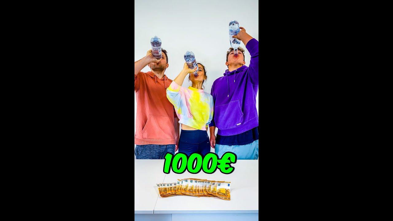 Erste Der Flasche Leer Hat Bekommt 1000€ Challenge!!!