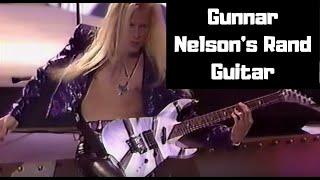 Gunnar Nelson's 1988 NAMM Rand Guitar
