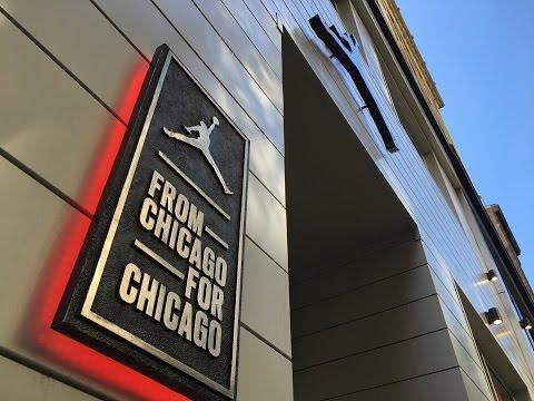 Michael Jordan Store - The Jordan Brand Retail Experience - Chicago - 18-Jul-2016