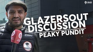 GLAZERS DISCUSSION! Fancams @ Old Trafford