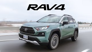 2019 Toyota Rav4 Review - New and Improved