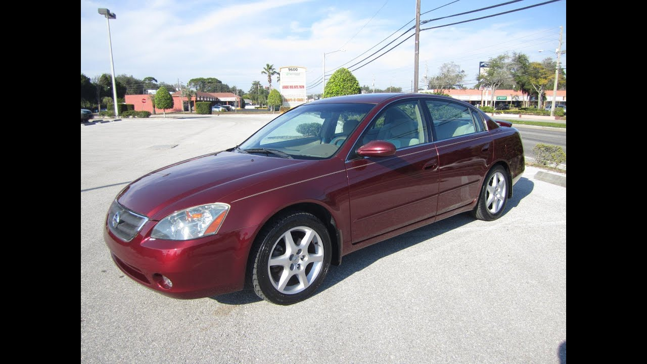 Captivating SOLD 2002 Nissan Altima 3.5 SE Meticulous Motors Inc Florida For Sale    YouTube