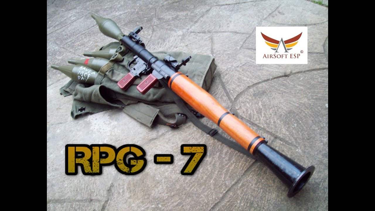 Rpg 7 airsoft