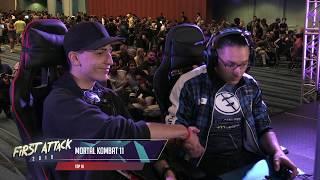 [Mortal Kombat 11] Top 16 Semis - First Attack 2019 - Part 1