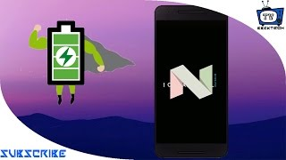 How to save battery on Android N- [ BATTERY DRAINAGE ISSUE SOLVED (s7)]