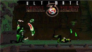 Ultimate Mortal Kombat 3 - Reptile【TAS】