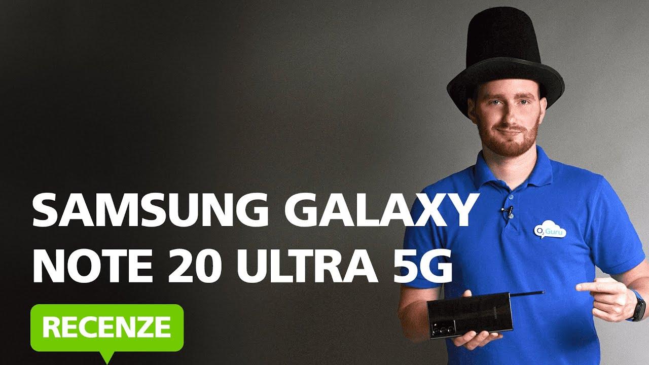 Recenze - Samsung Galaxy Note 20 Ultra 5G