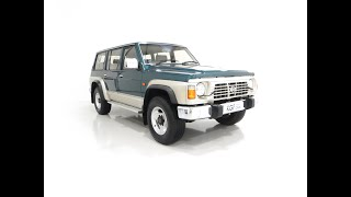 A Formidable Nissan Patrol GR SE Auto 5-door 7 seater with Only 46,478 Miles - £11,695
