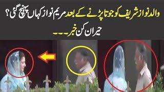 Where Is Maryam Nawaz After Shoe On Nawaz Sharif ?