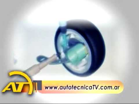 Autotecnica TV. Motor eléctrico in-wheel de Siemens. 13/07/09