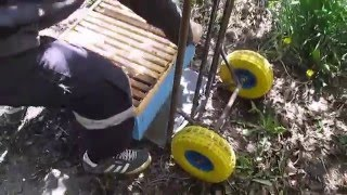 Пасечная тележка своими руками. Beekeeping
