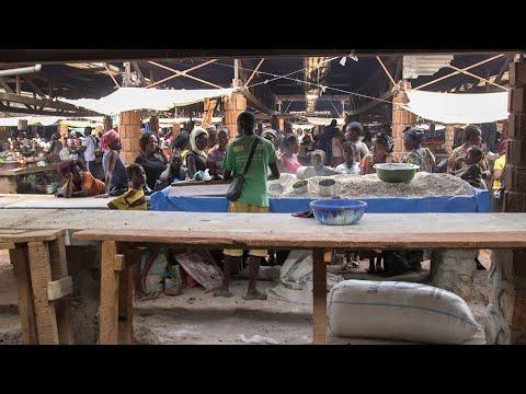 Réhabilitation du marché combattant à Bangui