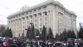 Харьков   12 апреля 2014   Митинг и голосование. Video