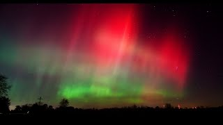 Aurora Timelapse from Michigan 10-24-11