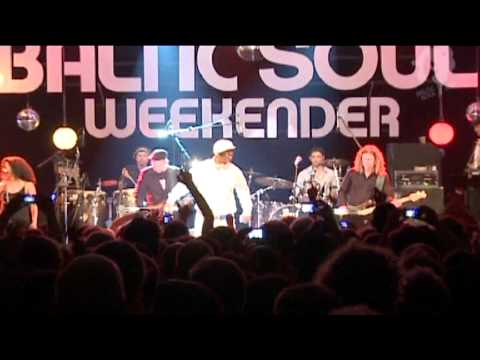 Kurtis Blow - Hip Hop Medley live at Baltic Soul Weekender #3