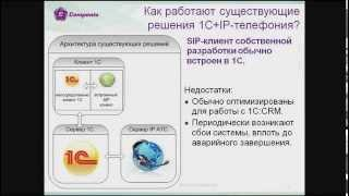 Компента. Модуль интеграции 1С и IP-АТС Asterisk(Компента. Модуль интеграции 1С + VoIP Asterisk. Модуль, позволяющий совершать телефонные звонки из любого программ..., 2014-08-05T07:27:41.000Z)