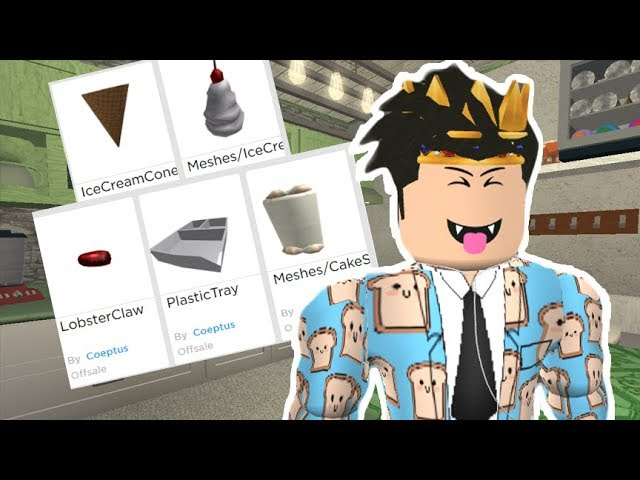 New Bloxburg Foods Coming In The Future Checking Out Some Leaks