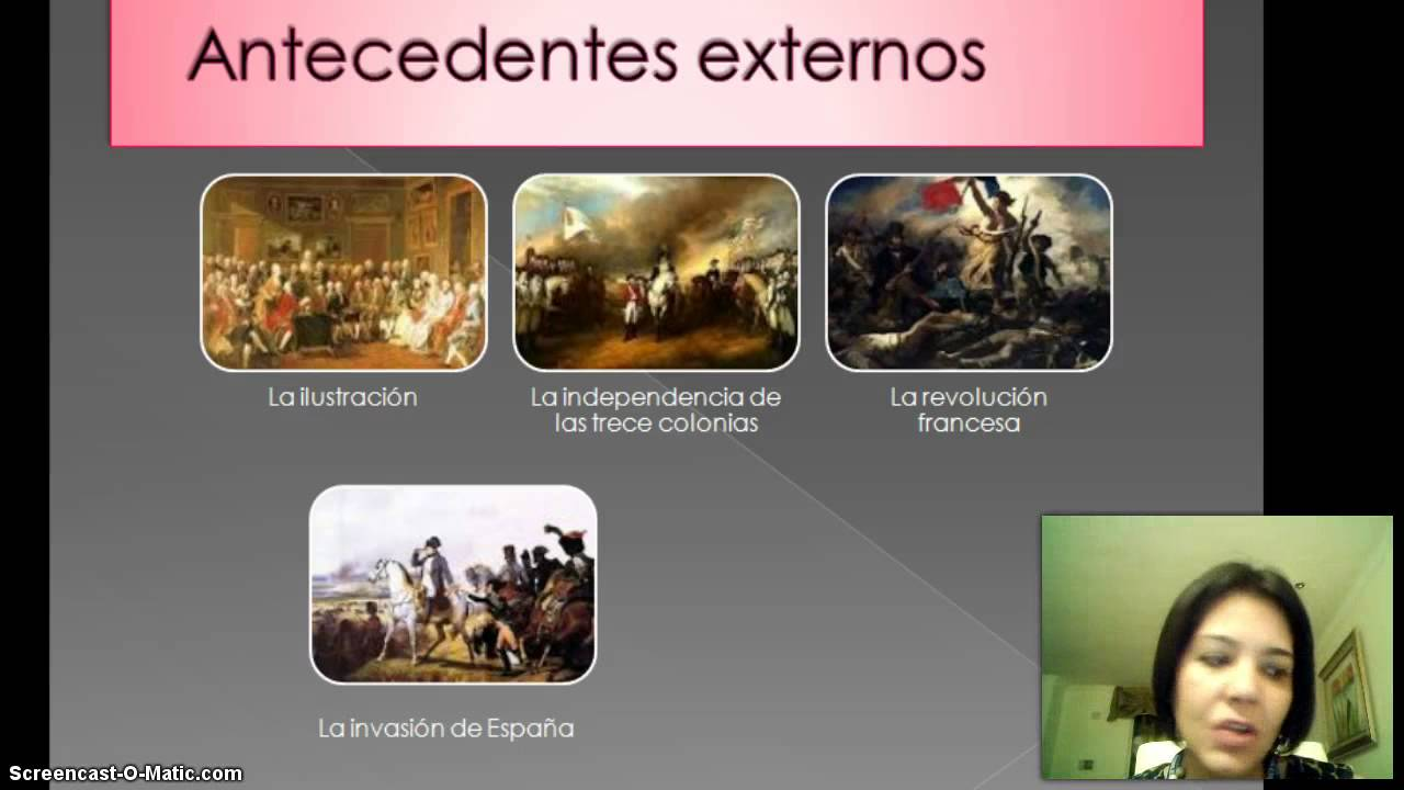Antecedentes de la Independencia de México - YouTube