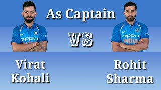 Virat Kohali vs Rohit Sharma, Who is the best? Captaincy record comparison