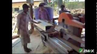 Automatic Reciprocating Cutting Single Side Sawing Machine MJ-250-1300 in Thailand 02